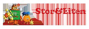 Stor och liten logo